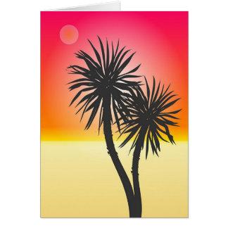 Exotic Beach Card