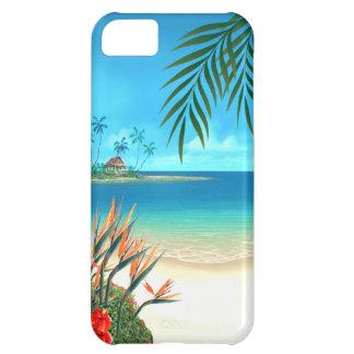 Exotic Beach Tropical designer Case For iPhone 5C