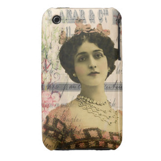 Exotic Beauty Digital Collage Art iPhone 3 Covers