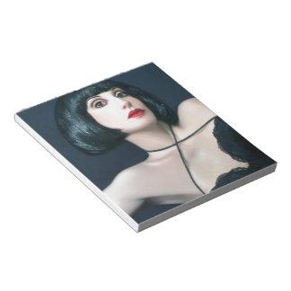 Exotic Beauty - Self Portrait Memo Note Pad