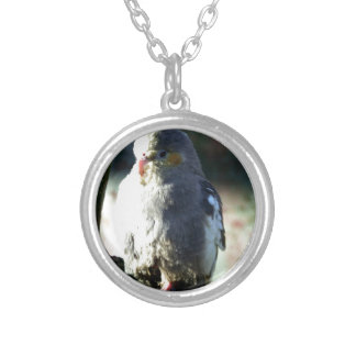 Exotic Bird Personalized Necklace