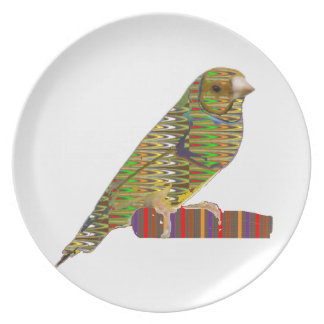 Exotic BIRD Pet ZOO Graphic Art: LOWPRICE gifts Dinner Plate