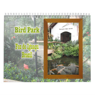 Exotic Birds Wall Calendar