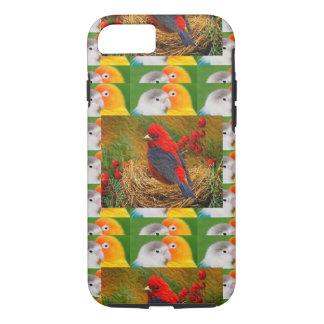 Exotic Birds Kids Mom Sister Zoo Fancy Pets iPhone 8/7 Case