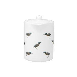 Exotic Birds Motif Pattern Teapot