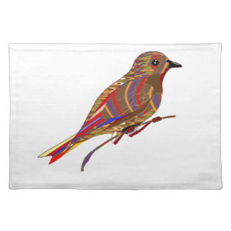 Exotic Birds: Wild Pet Zoo Graphic LowPrice GIFTS Placemat