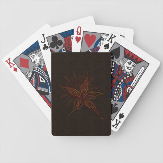 Exotic Blossom Bicycle Playing Cards