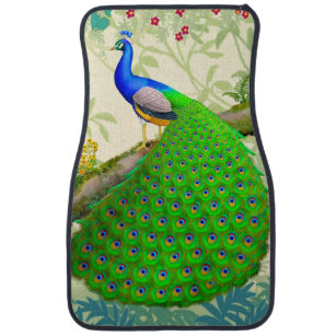 Indian Peacock Car Floor Mats Zazzle