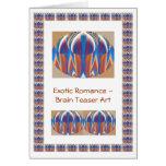 Exotic Brain Teaser Art Greeting Cards