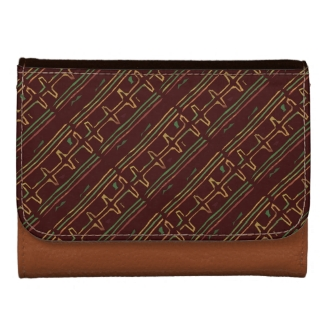 Exotic Brown African Mudcloth Pattern