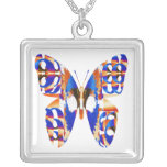 Exotic Butterfly Blue Jewelry