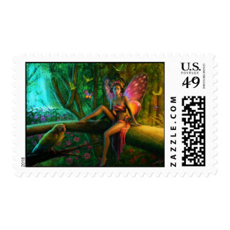 Exotic butterfly postage stamps