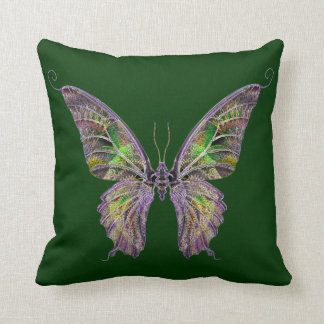 Exotic Butterfly Reversible Pillow
