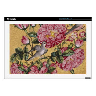 "Exotic Camellias 17"" Laptop Decal"
