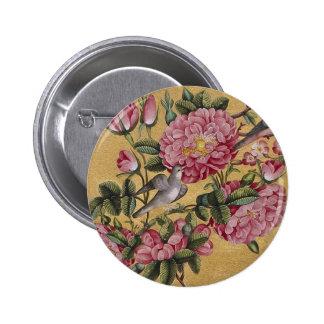 Exotic Camellias Button