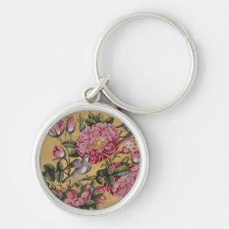 Exotic Camellias Keychain