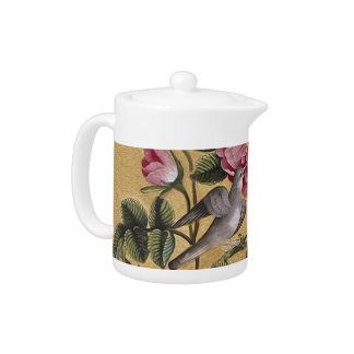 Exotic Camellias Teapot