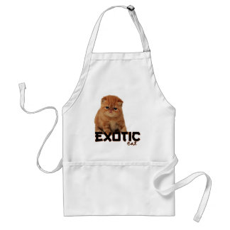 exotic cat breeds adult apron