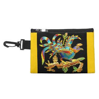 Exotic Cloisonné Bird Accessory Bag