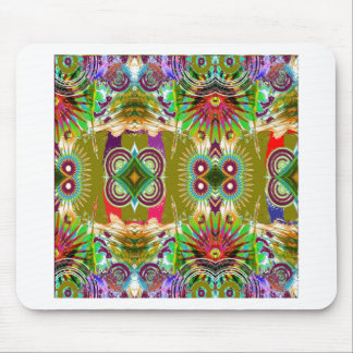 EXOTIC Colorful Geometrical Graphic GIFTS for ALL Mouse Pad