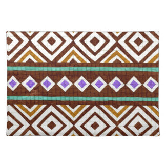 Exotic Colorful Tribal Design Place Mat