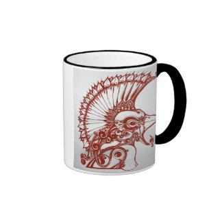 exotic creature ringer coffee mug