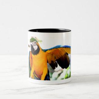 Exotic Creature Two-Tone Coffee Mug