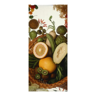 Exotic crops rack card