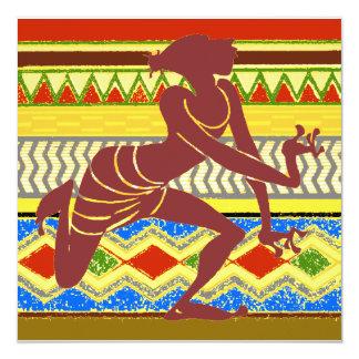 Exotic  Egyptian Dancer Card
