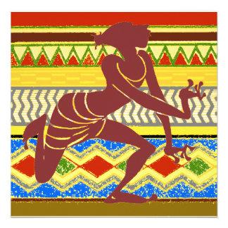Exotic  Egyptian Dancer Custom Invitation
