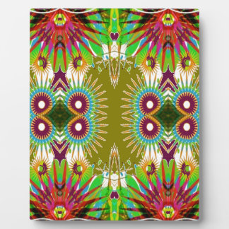 Exotic Elegant Graphic Flowers  Patterns GIFTS fun Display Plaques