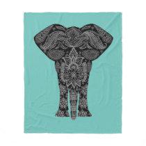 Exotic Elephant Blanket