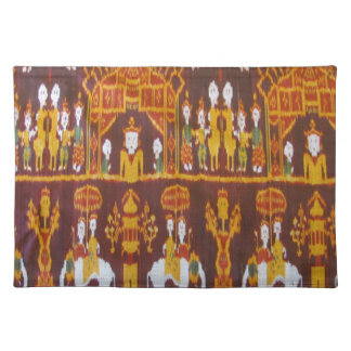 Exotic Fabric Designs Placemat