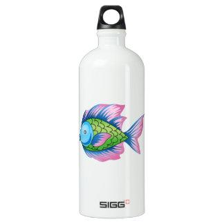 EXOTIC FISH ALUMINUM WATER BOTTLE