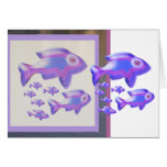 Exotic Fish FAMILY Card