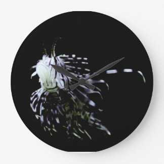 Exotic fish large clock