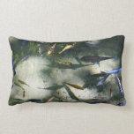 Exotic Fish Pond Colorful Animal Photography Lumbar Pillow