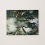 Exotic Fish Pond Colorful Animal Photography Puzzle