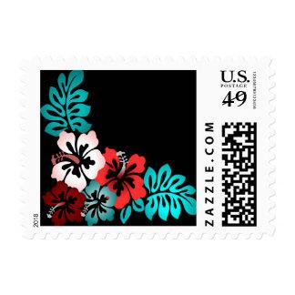 Exotic Floral Design Stamp