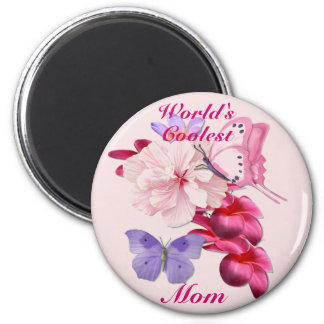 Exotic Floral for Mom Magnets