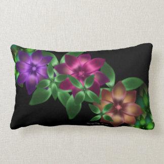 Exotic Flower Vine Throw Pillow