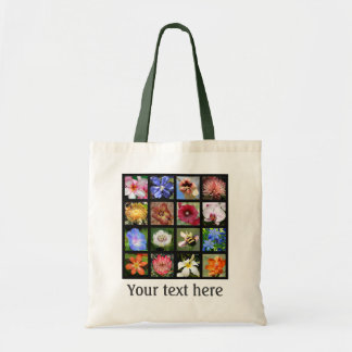 Exotic Flowers from Around the World Tote Bag