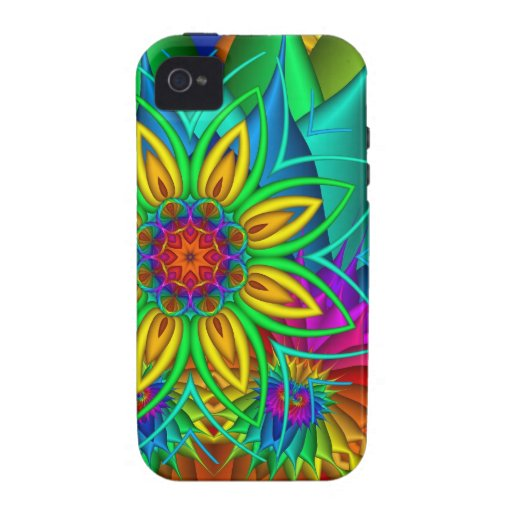 Exotic Flowers iPhone 4 Tough Case iPhone 4 Cases