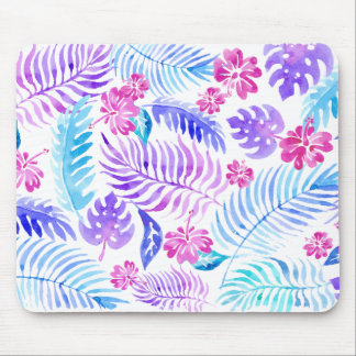 Exotic Flowers Mouse Pad