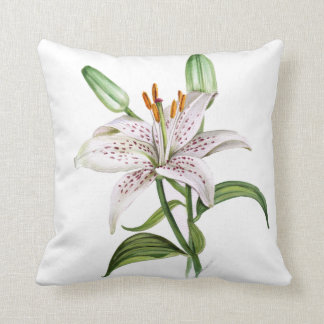 exotic flowers orchid lilly double side cushion pillow