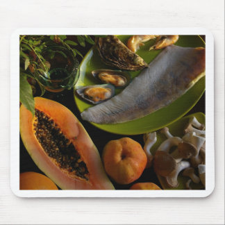 Exotic food mouse pad