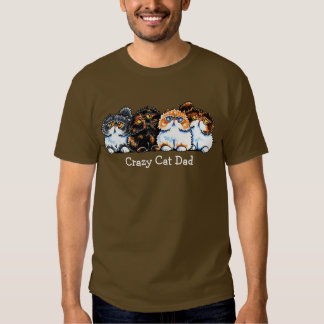 Exotic Foursome Cats Personalized T Shirt