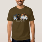 Exotic Foursome Cats Personalized Tshirt