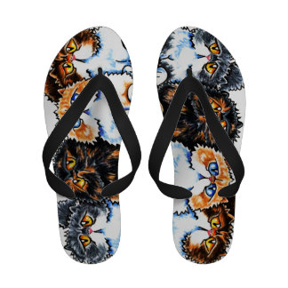 Exotic Foursome Cats Sandals