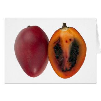 Exotic Fruit Tamarillos Greeting card